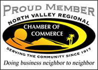 member of North Valley Regional Chamber of Commerce